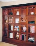 mahogany-bookcases