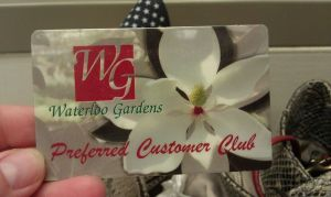 Waterloo customer card:A piece of local history and trivia after this August