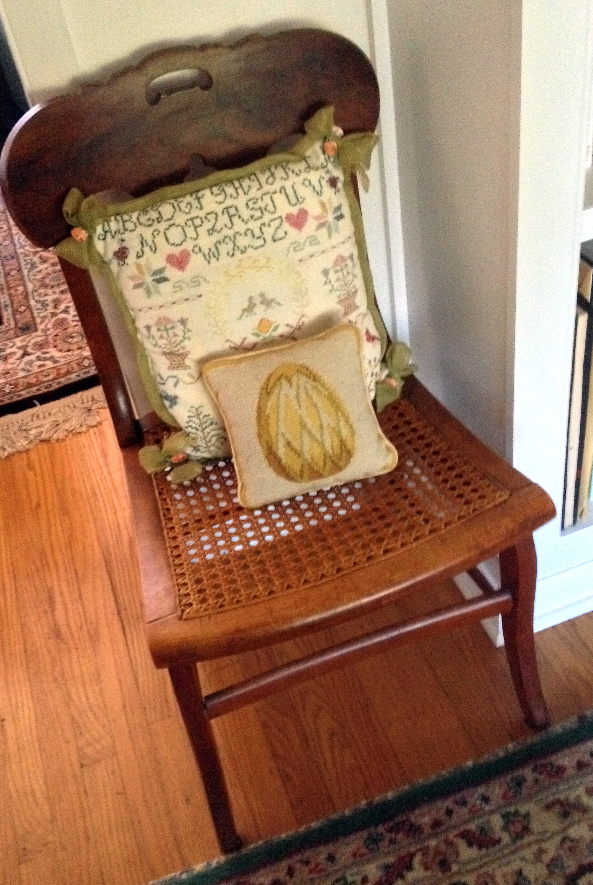 Chair One Of A Pair ($18 For Both) From Smithfield Barn, Downingtown.