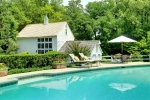 pool and guest barn