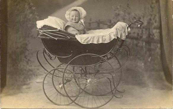 old-fashioned-baby-stroller