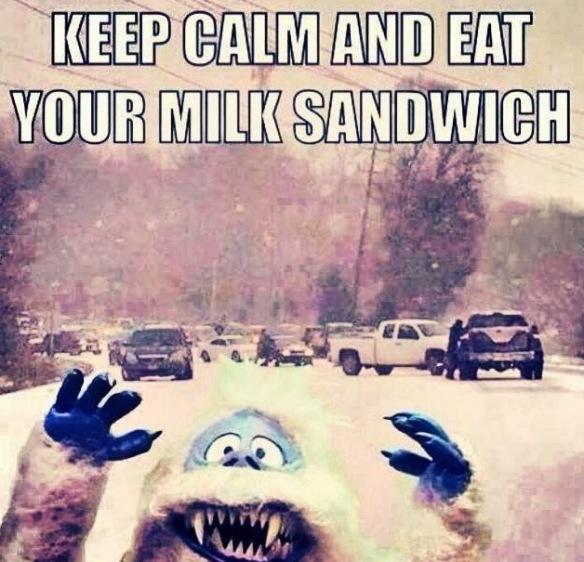 milk sandwich