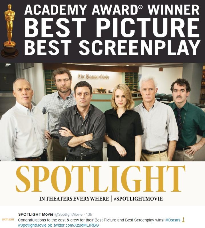 spotlight: the oscar winning movie the catholic church ...