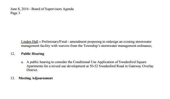 Agenda Page 3