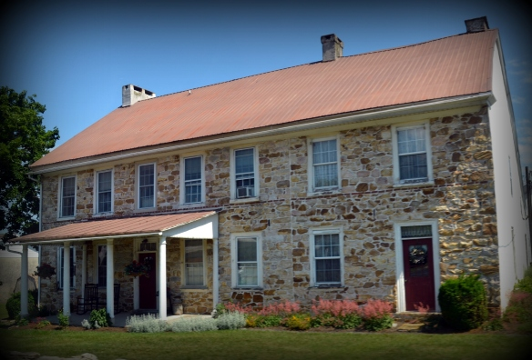 NOTE: this is a beautifully restored old stone house. I took the photo recently, and it doesn't need DIY network :)