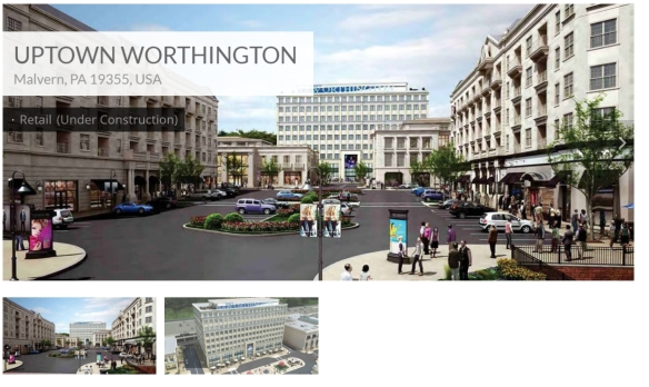 This is how the vision of completed Worthington goes.  Does this look like the Chester County you want to see? It looks like the King of Prussia mall!